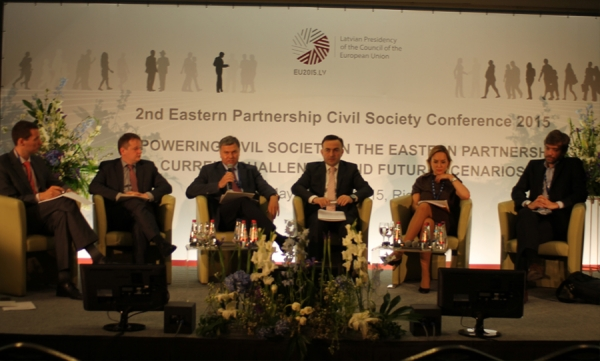 European Union's Eastern Partnership (EaP) Civil Society Conference, 21-22 of May 2015